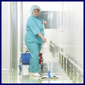 medical and business janitorial service